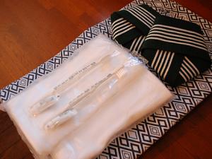 【基本アメニティ】浴衣、フェイスタオル、歯磨きセット